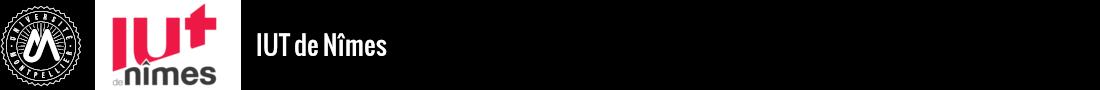 IUT de Nîmes Logo